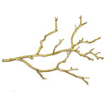 Sagebrook Home - Metal Twig Wall Decor - Sagebrook Home has been formed from a love of design, a commitment to service and a dedication to quality. We create and import fashion forward items in the most popular design styles.