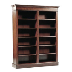 Scarborough House Bookcase Mahogany Elegant Marquetry Inlay