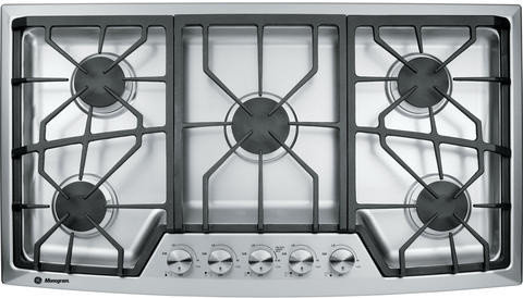 ge cafe electric cooktop 36