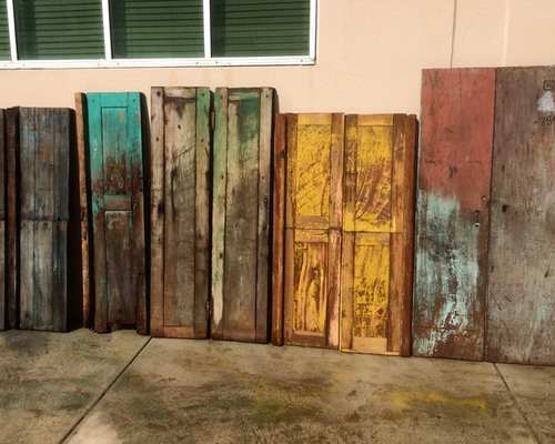 Old Mexican door furniture - Furniture & Furnishing repurposed from our collection of antique doors
