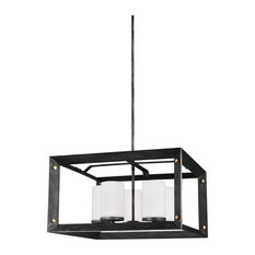 Sea Gull Lighting Chatauqua Contemporary Five Light Chandelier, Stardust