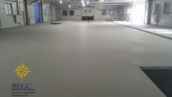 concrete floor begc london park royale