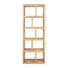 Berlin 5 Levels Bookcase, 70 cm., Oak