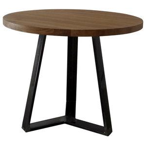 Bodi Round Dining Table, Black