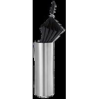 Casa Umbrella Stand by Blomus, Metallic