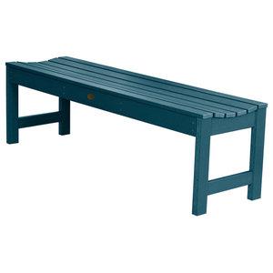 Lehigh Picnic Bench, Nantucket Blue, 5'