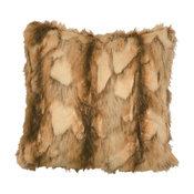 Brandy Fox Faux Fur Pillow
