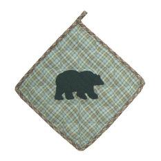 "Bear's Paw Pot Holder 8""X 8"""