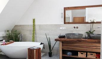 Massivholz Badezimmermöbel