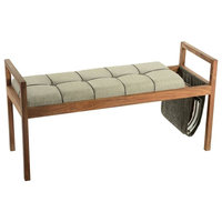 "43"" Bench, Brown"