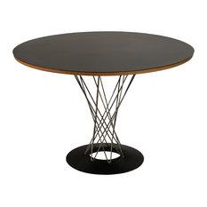 - Стол Isamu Noguchi Style Cyclone Table черный - Обеденные столы