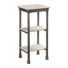 Home Styles The Orleans Three Tier Tower in Gray and Marble