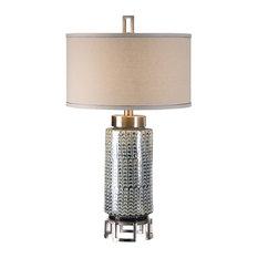 Uttermost Vanora Cerulean Blue Table Lamp