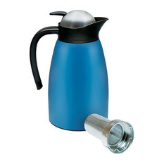 Dotz Thermos Jug Flask With Strainer, Blue