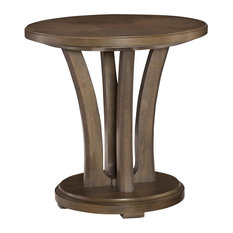 Park Studio Round Lamp Table By American Drew