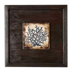 Indigo Coral Shadowbox #2 Artwork