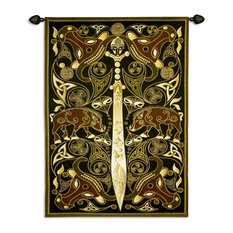 """USA Woven Tapestry Wall Hanging Celtic Warrior, A, 63""""x45"""""""
