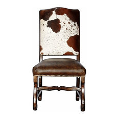 John Proffitt Home - Classic Cowhide Dining Chair, Set of 6 - Dining Chairs