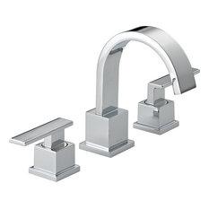 Delta Vero 2-Handle Widespread Lavatory Faucet, Polished Chrome