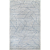 nuLOOM Contemporary Blanca Striped Area Rug, Blue, 8'x10'