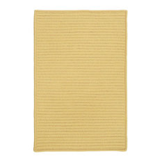 Colonial Mills, Inc - Colonial Mills Simply Home Solid Pale Banana Square 12' Area Rug - Outdoor Rugs