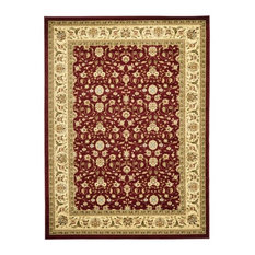 Safavieh Lyndhurst 12'x18' Power Loomed Rug, Red and Ivory