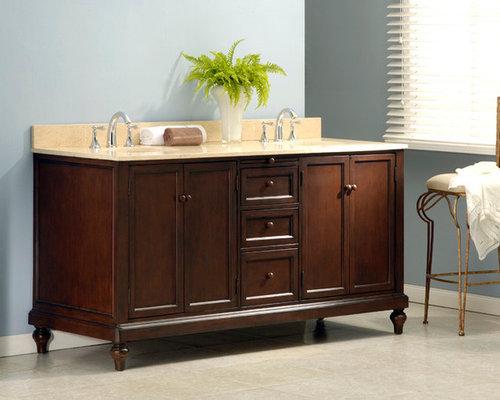 bathroom double sink cabinets. Janison 70  Traditional Double Sink Cabinet Beige Marble Top Bathroom Vanities And Consoles J