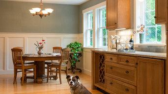 New England kitchen renovation