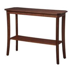 Pemberly Row Console Table In Mahogany