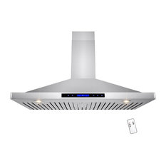 Golden Vantage Llc 42 Wall Mount Range Hood With Remote And Touch