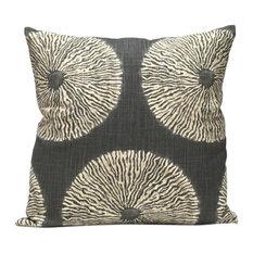 Shibori Pillow, Greystone