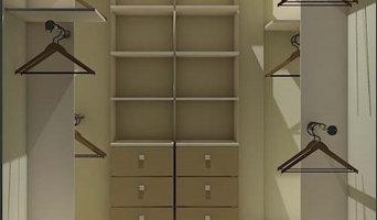 Гардеробная для постоянных клиентов: третий проект в одном доме