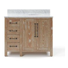 Mackay Bathroom Vanity With Marble Top, 42""