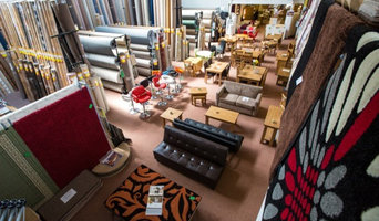 Carpets, flooring and furniture.
