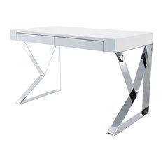 White Lacquer Desks | Houzz