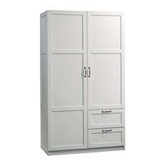 Sauder Select Wardrobe Armoire in White