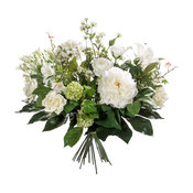 Contemporary White Artificial Bouquet