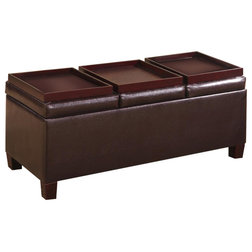 Transitional Footstools And Ottomans by Coaster Fine Furniture