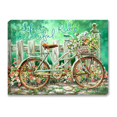 Life Is A Beautiful Ride Illuminated Art Work