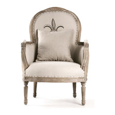 French Country Chair Houzz - French country chairs