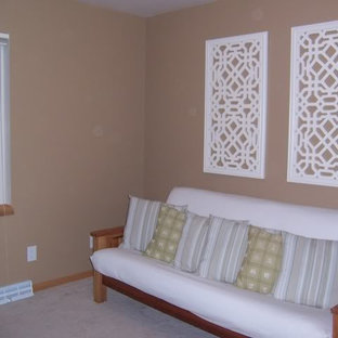 Guest Room With Futon Frame and Mattress