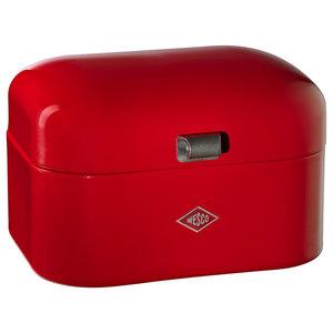 Wesco Single Grandy Bread Bin, Red
