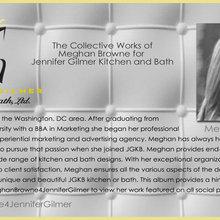 Portfolio of Meghan Browne for Jennifer Gilmer Kitchen and Bath