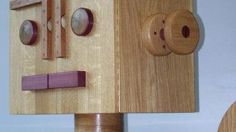 Woodbot RTP2013 - Solid Oak Drinks Cabinet / Sideboard