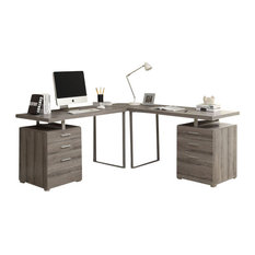 Modern Corner Desk x shaped legs desks | houzz