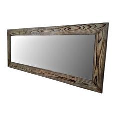 full length wall mirrors. Muller Designs - Full Length Wall Mirror, Long Gray Mirrors