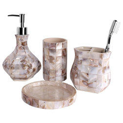 Nice Beach Style Bathroom Accessory Sets by Creative Scents