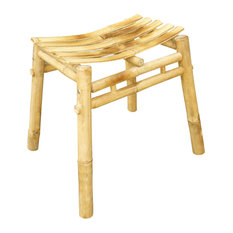 Bamboo Stool, Natural