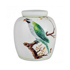 V&A Green Parrot Ginger Jar