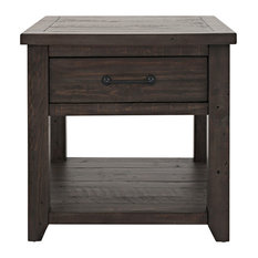 Madison County Harris End Table, Barnwood